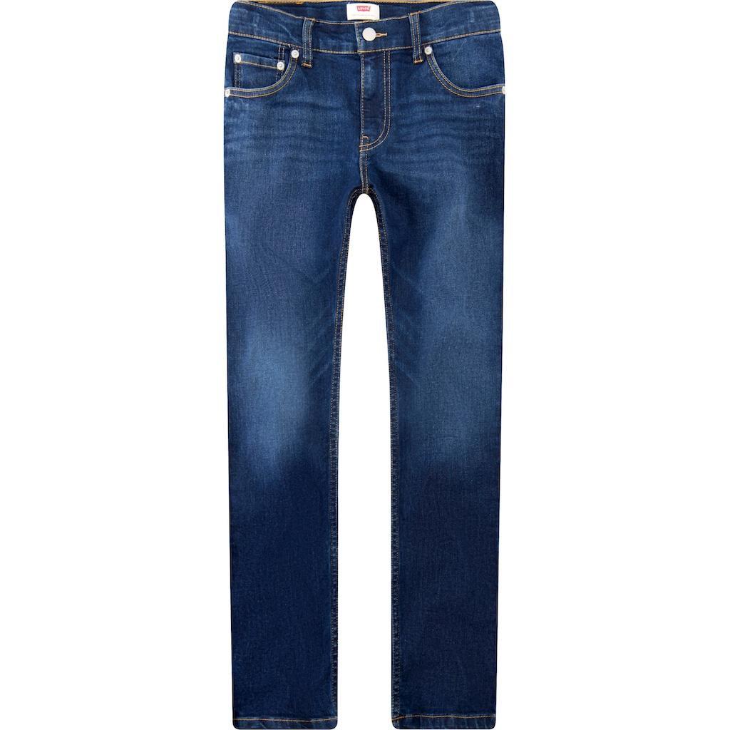 Levi's Kidswear Stretch-Jeans »LVB 510 SKINNY FIT JEAN«