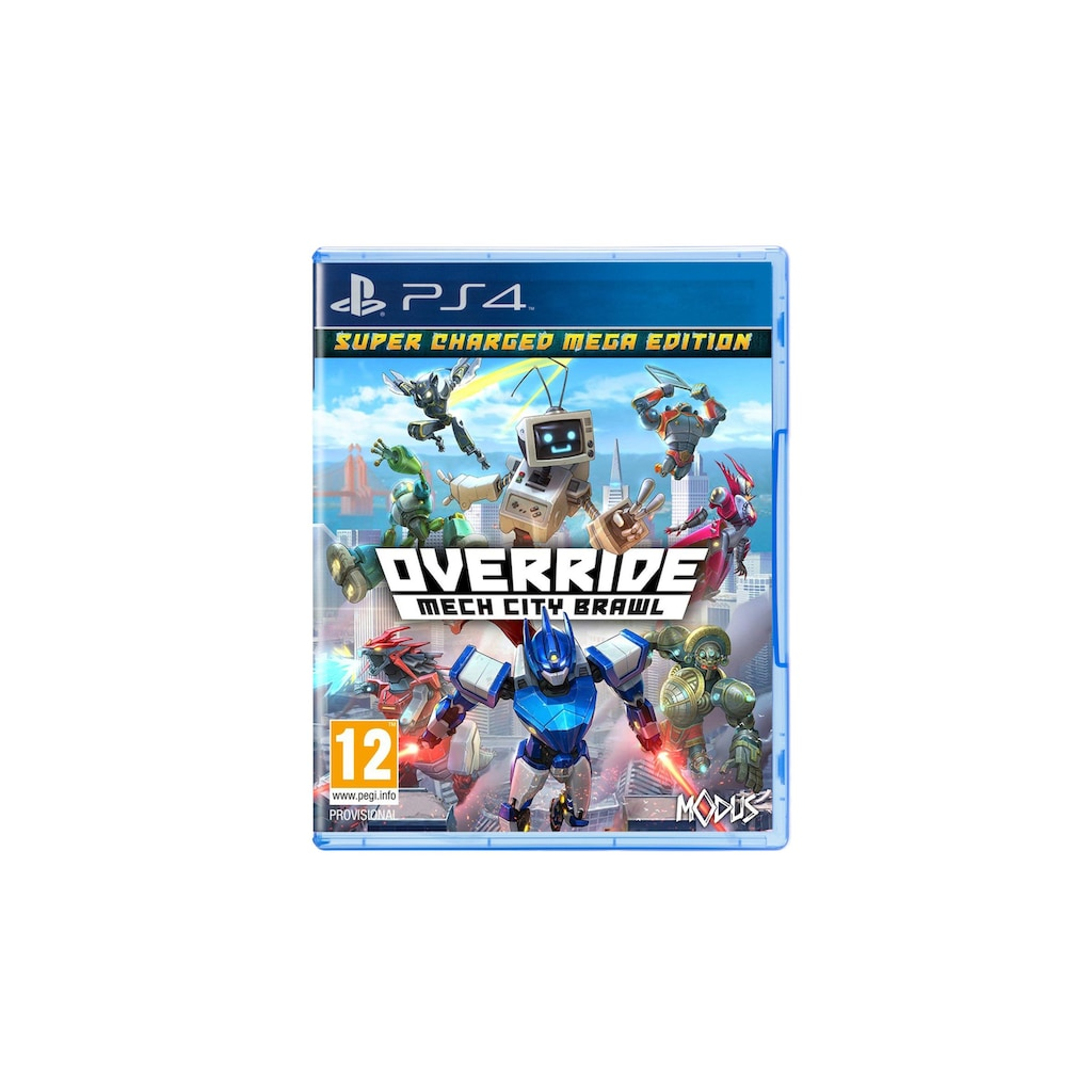 Spiel »Override Mech City Brawl - Super Charged Mega Edition«, PlayStation 4