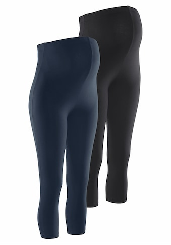 Neun Monate Umstandsleggings »Powered by Flashlights« (Packung, 2 tlg.) kaufen