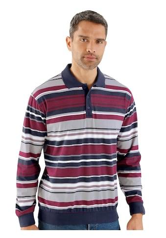 Poloshirt mit flotten Ringel kaufen