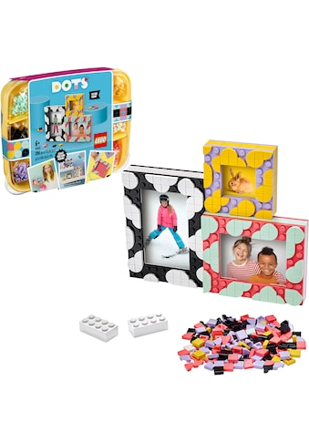 LEGO® Konstruktionsspielsteine »Bilderrahmen (41914), LEGO® Dots«, (398 St.), Made in Europe kaufen