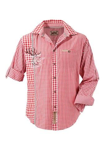 Stockerpoint Trachtenhemd, mit traditioneller Strickerei kaufen