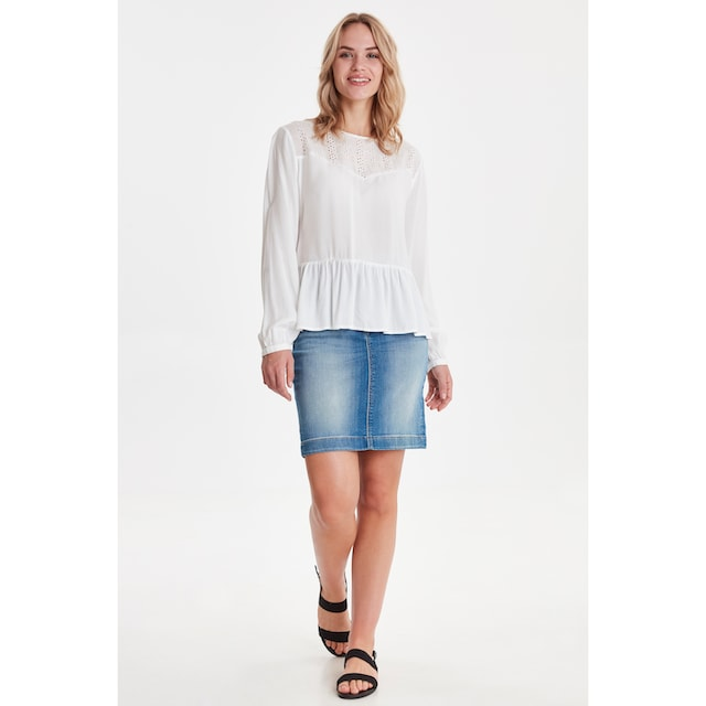 b.young Schlupfbluse »BYIVONNE FRILL BLOUSE«