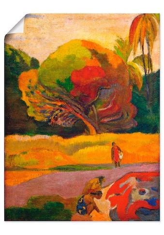 Artland Wandbild »Paul Gauguin Frauen am Fluss«, Wiesen & Bäume, (1 St.) kaufen