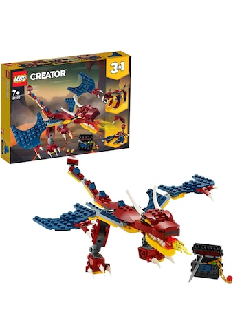 """LEGO® Konstruktionsspielsteine """"Feuerdrache (31102), LEGO® Creator"""", Kunststoff, (234 - tlg.) kaufen"""