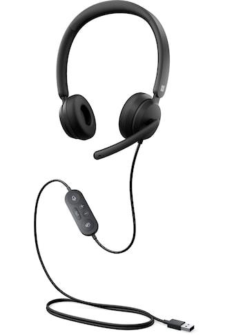 Microsoft On-Ear-Kopfhörer »Modern USB Headset«, Rauschunterdrückung-Noise-Cancelling kaufen