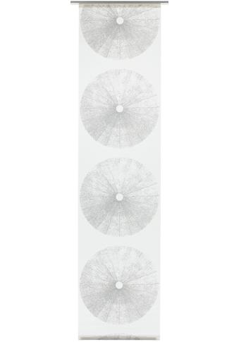 Schiebegardine, »Flächenvorhang Stoff Tree«, GARDINIA, Klettband 1 Stück kaufen