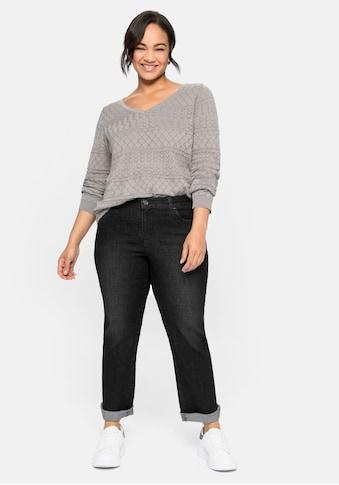 Sheego Gerade Jeans, in extra-kurzer PETITE Grösse kaufen