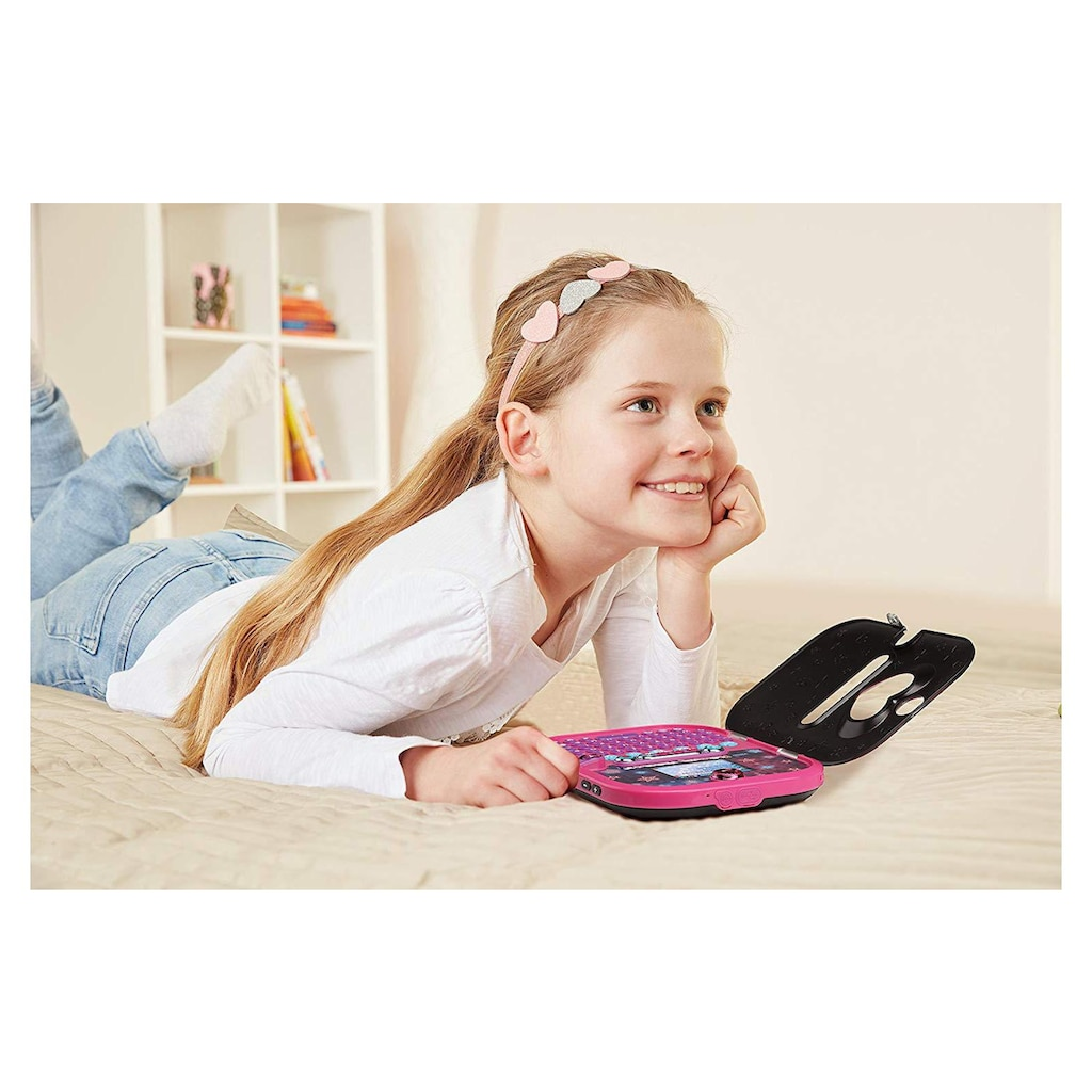 Vtech® Lerntablet »Kidisecrets Selfie Music«, mit Kamera und MP3-Player