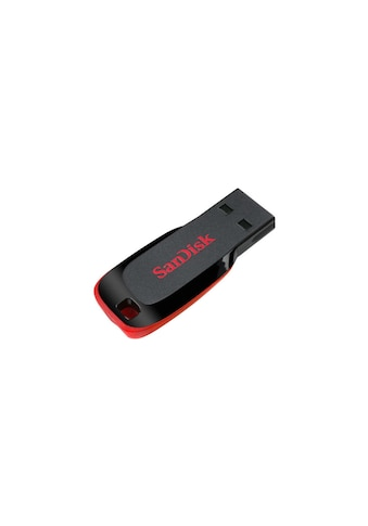 Sandisk USB-Stick »Cruzer Blade USB 2.0 32 GB«, ( USB 2.0 Lesegeschwindigkeit 9 MB/s) kaufen