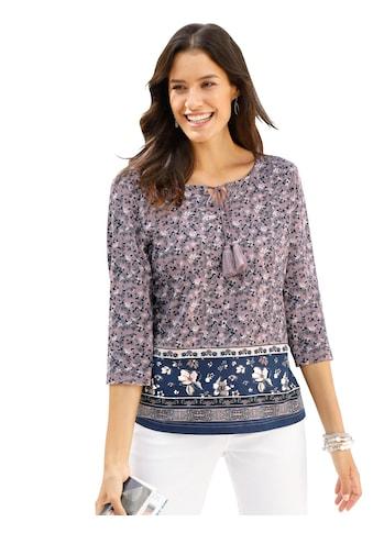 Inspirationen Shirttunika im sommerlichen Blumenmuster kaufen
