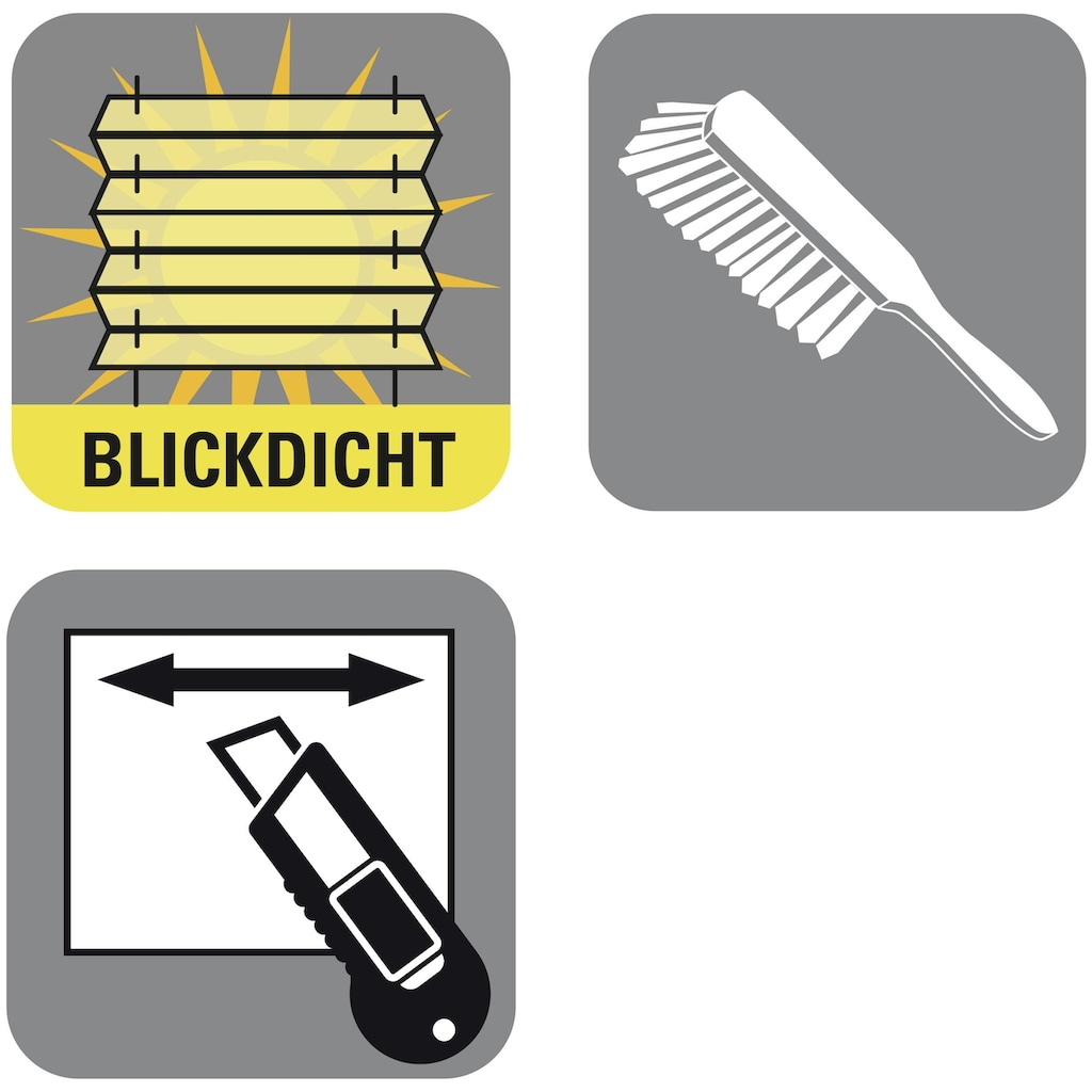 GARDINIA Plissee »Easyfix Plissee Cara«, Lichtschutz, ohne Bohren, verspannt