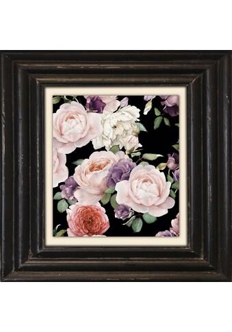 Holzbild »Rosa Blüten I« kaufen