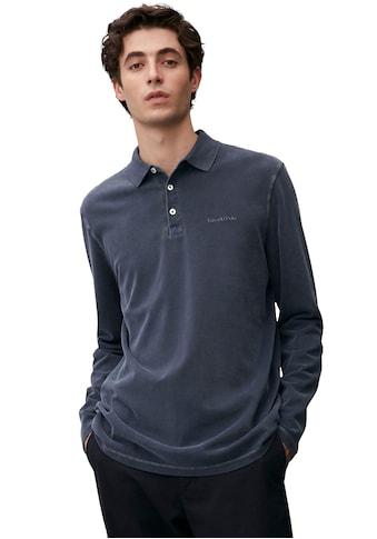 Marc O'Polo Langarm-Poloshirt, Used- Look kaufen