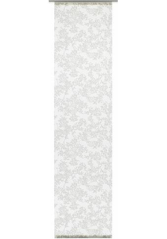 GARDINIA Schiebegardine »Flächenvorhang Stoff Rispe mit silbernen Paneelwagen«, HxB: 245x60 kaufen