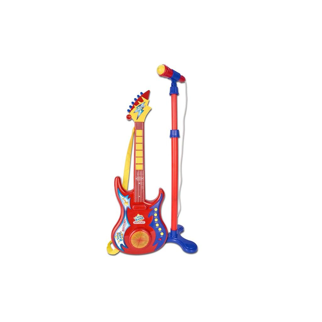 Spielzeug-Musikinstrument »Rockgitarre mit Mikrofon«