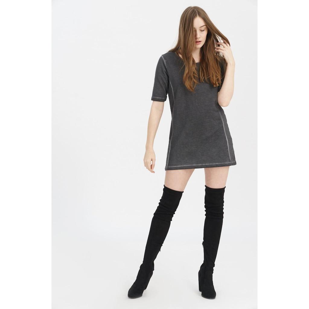 trueprodigy Sweatshirt »Ella«, lang geschnitten in Vintage-Optik
