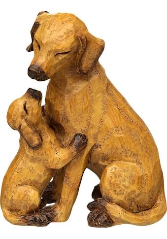 Ambiente Haus Dekofigur »Hund mit Welpe«, klein kaufen