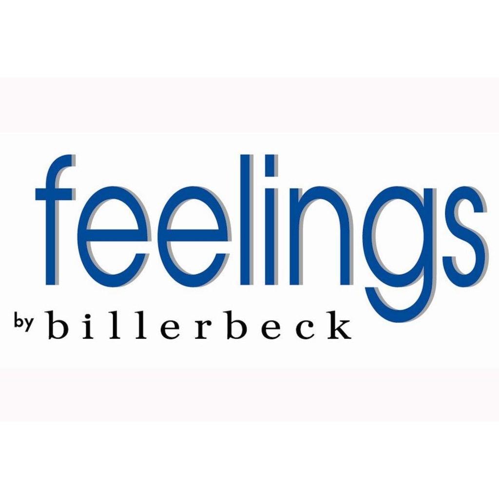 feelings by billerbeck Einziehdecke »Karo- Duvet »Lara Leicht««, leicht, Füllung 90% neue, reine Entendaunen, weiss 10% neue, reine Entenfederchen, weiss, Bezug 100% Baumwolle, (1 St.)