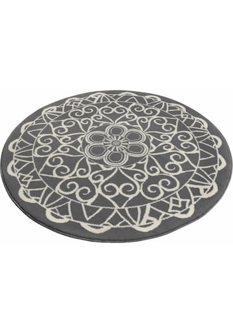 Teppich, »Mandala 1«, Zala Living, rund, Höhe 9 mm, maschinell gewebt kaufen