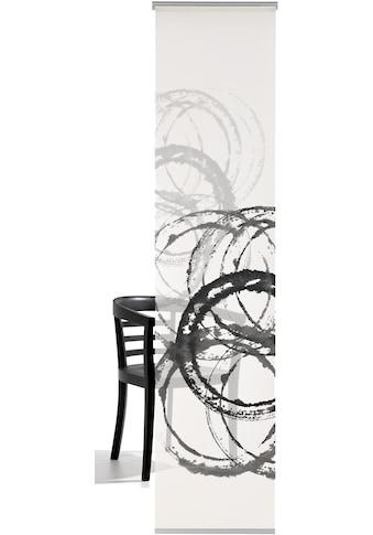 emotion textiles Schiebegardine »Aquarellkreise«, HxB: 260x60, mit Befestigungszubehör kaufen