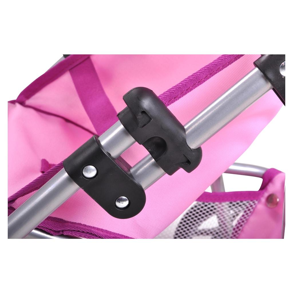 Knorrtoys® Puppenbuggy »Liba UMA das Einhorn rosa«
