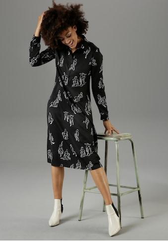 Aniston CASUAL Blusenkleid, mit extravagantem Druck - NEUE KOLLEKTION kaufen