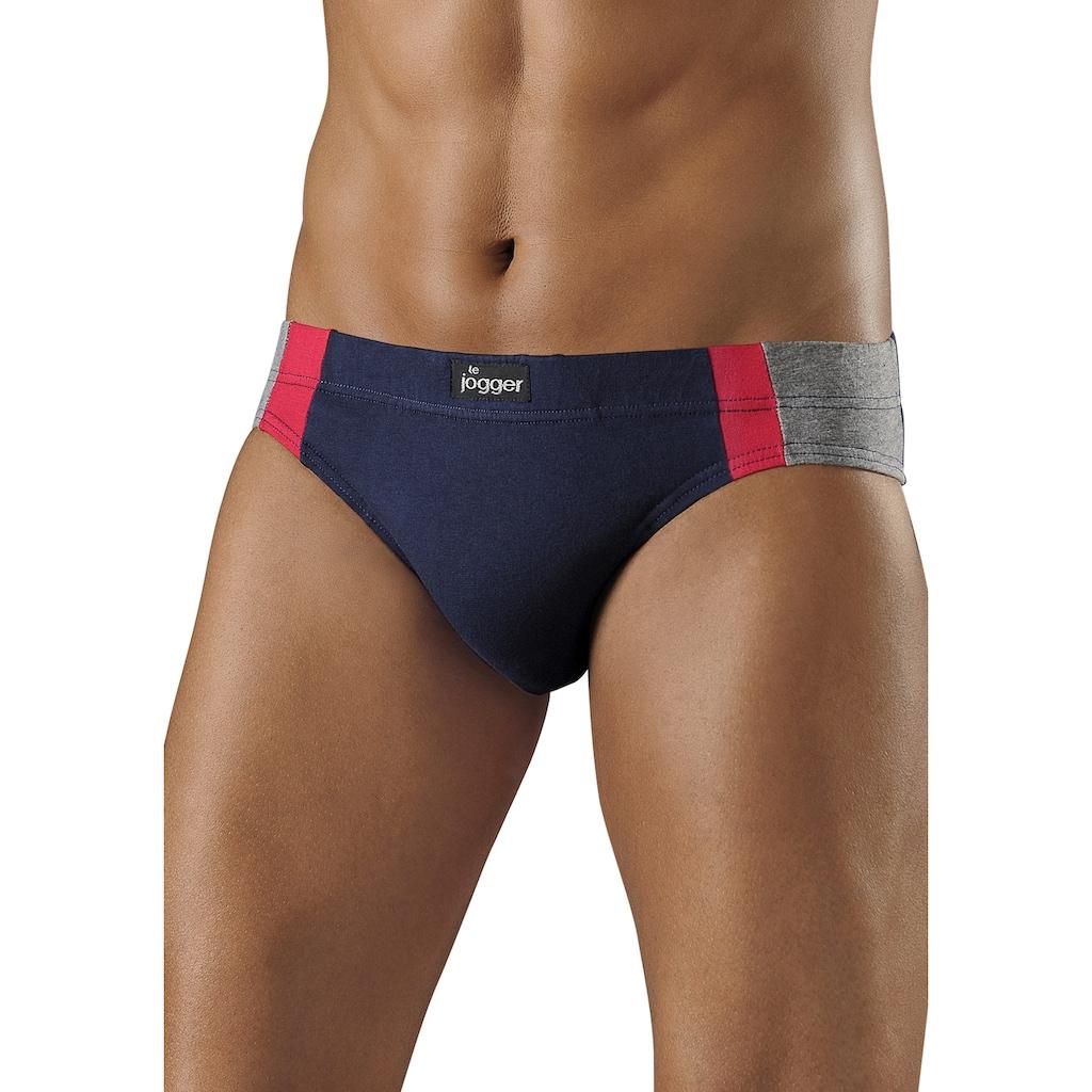 le jogger® Slip, (4 St.), optimale Passform durch Baumwoll-Stretch
