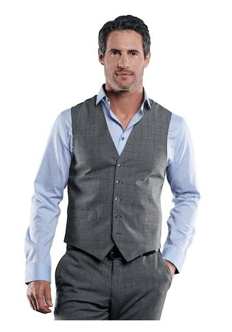 Engbers Stilvolle karierte Anzugweste kaufen