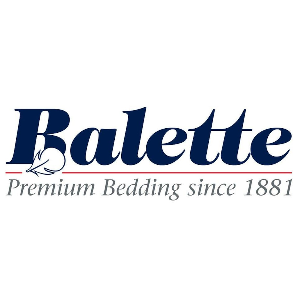Balette Daunenbettdecke »Daunenprogramm, Balette, »Arktis««, Füllung neue reine Gänsedaunen 90%, weiss, Bezug Daunenbatist - 100% Baumwolle, (1 St.)