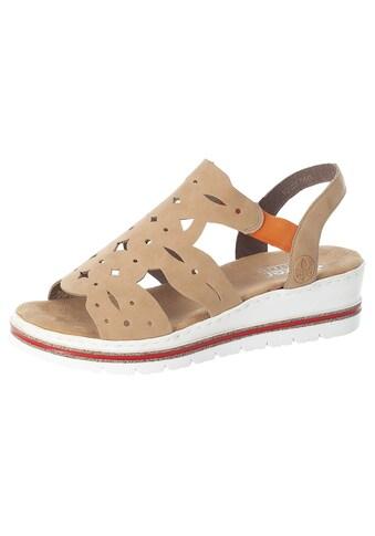 Rieker Sandalette, mit schöner Lochmusterung kaufen