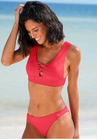 Bench. Triangel-Bikini-Top »Perfect«, Mit Zierschnürung kaufen