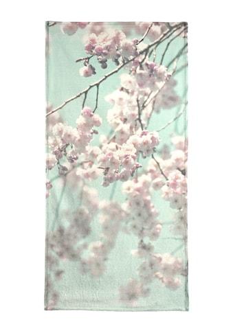 """Handtuch """"Happy Spring"""", Juniqe kaufen"""
