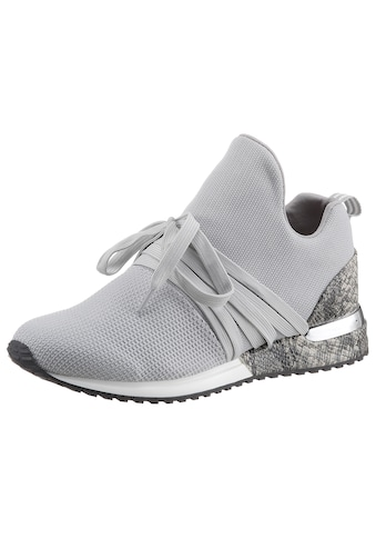 La Strada Slip-On Sneaker »Fashion Sneaker«, mit glänzendem Metallicbesatz am Absatz kaufen