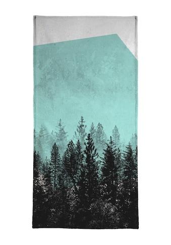 """Handtuch """"Wood 3"""", Juniqe kaufen"""