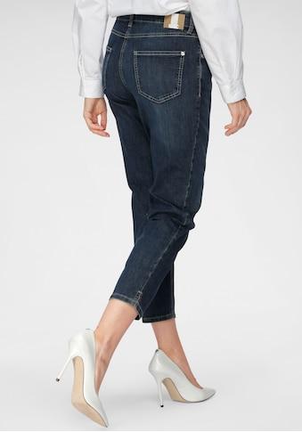 MAC 7/8-Jeans »Melanie-Cropped«, Verkürzte Form mit kleinem Schlitz am Saum kaufen