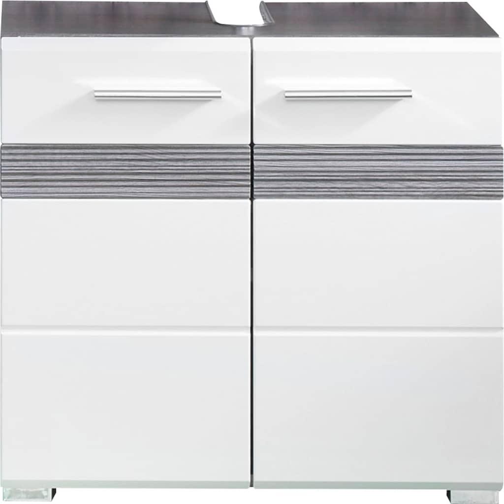 trendteam Waschbeckenunterschrank »Tone«, mit zweifarbiger Front