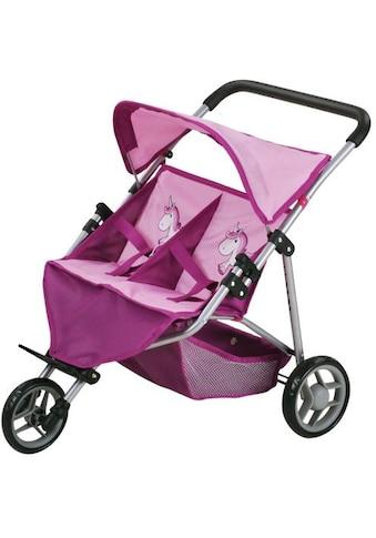 Knorrtoys® Puppenwagen »Duo - UMA. Das Einhorn«, für Zwillinge kaufen