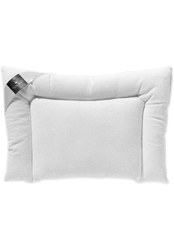 billerbeck Kunstfaserkopfkissen »CLIVIA«, Füllung: 100% Polyester, Airsoft clean®, Bezug: 100% Polyester, Microfaser-Gewebe, (1 St.) kaufen