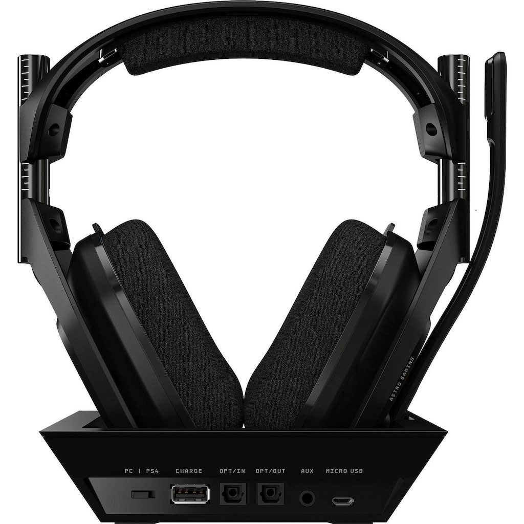 ASTRO Gaming-Headset »A50«, Rauschunterdrückung, inkl. PS5 Demon's Souls