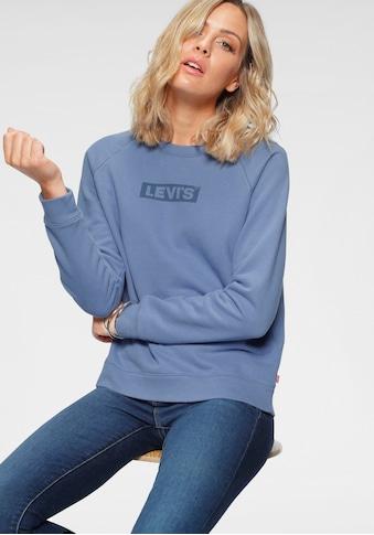 Levi's® Sweatshirt »Relaxed Graphic Crew«, mit Raglanärmeln und Logo-Druck kaufen