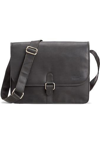 Packenger Umhängetasche »Aslang, schwarz«, mit 13-Zoll Laptopfach kaufen