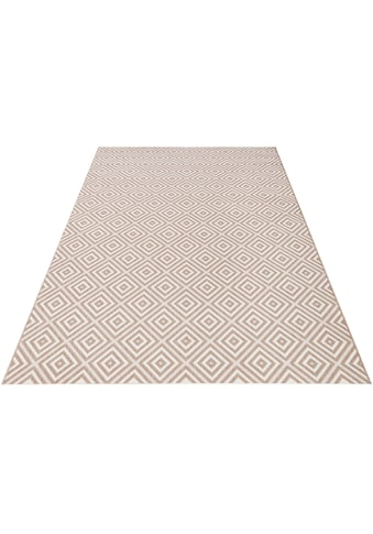 Teppich, »Karo«, bougari, rechteckig, Höhe 8 mm, maschinell gewebt kaufen