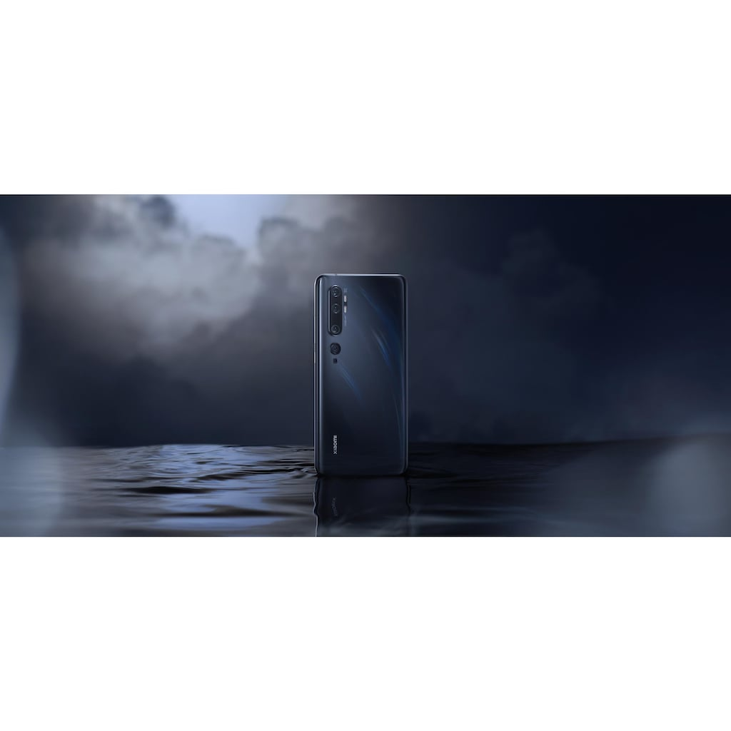 "Xiaomi Smartphone »Mi Note 10 Pro 256GB Schwarz«, (16,43 cm/6,47 "", 256 GB, 108 MP Kamera)"