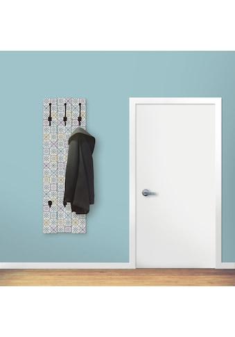Artland Garderobenpaneel »Orientalischer Traum«, platzsparende Wandgarderobe aus Holz... kaufen