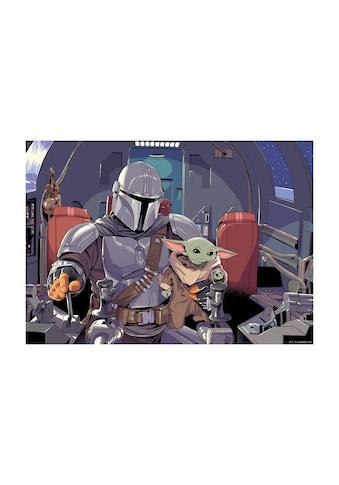 KOMAR Wandbild »Mandalorian The Child Cockpit«, PVC - frei und FSC® - zertifiziertes Produkt. kaufen