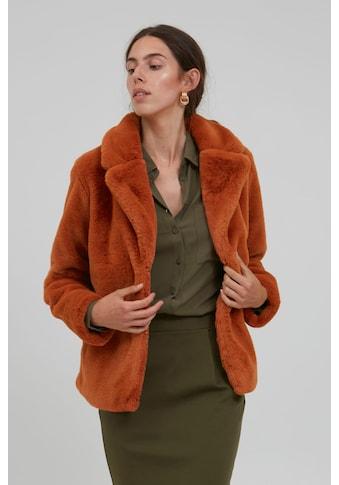 Ichi Fellimitatjacke »IHSIMPO JA 20107195«, Kurze Jacke in Teddyfell-Optik kaufen