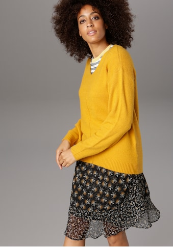 Aniston SELECTED Strickpullover, in aktueller Farbpalette kaufen