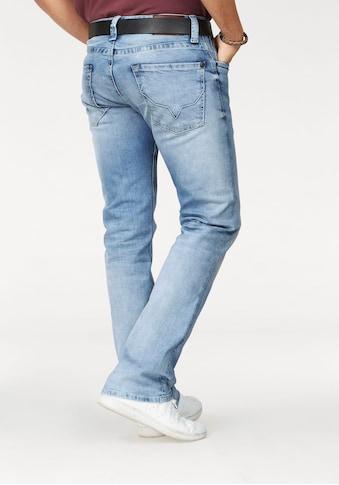 Pepe Jeans Straight - Jeans »KINGSTON ZIP« kaufen