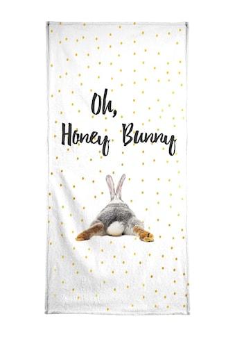 """Handtuch """"Honey Bunny"""", Juniqe kaufen"""
